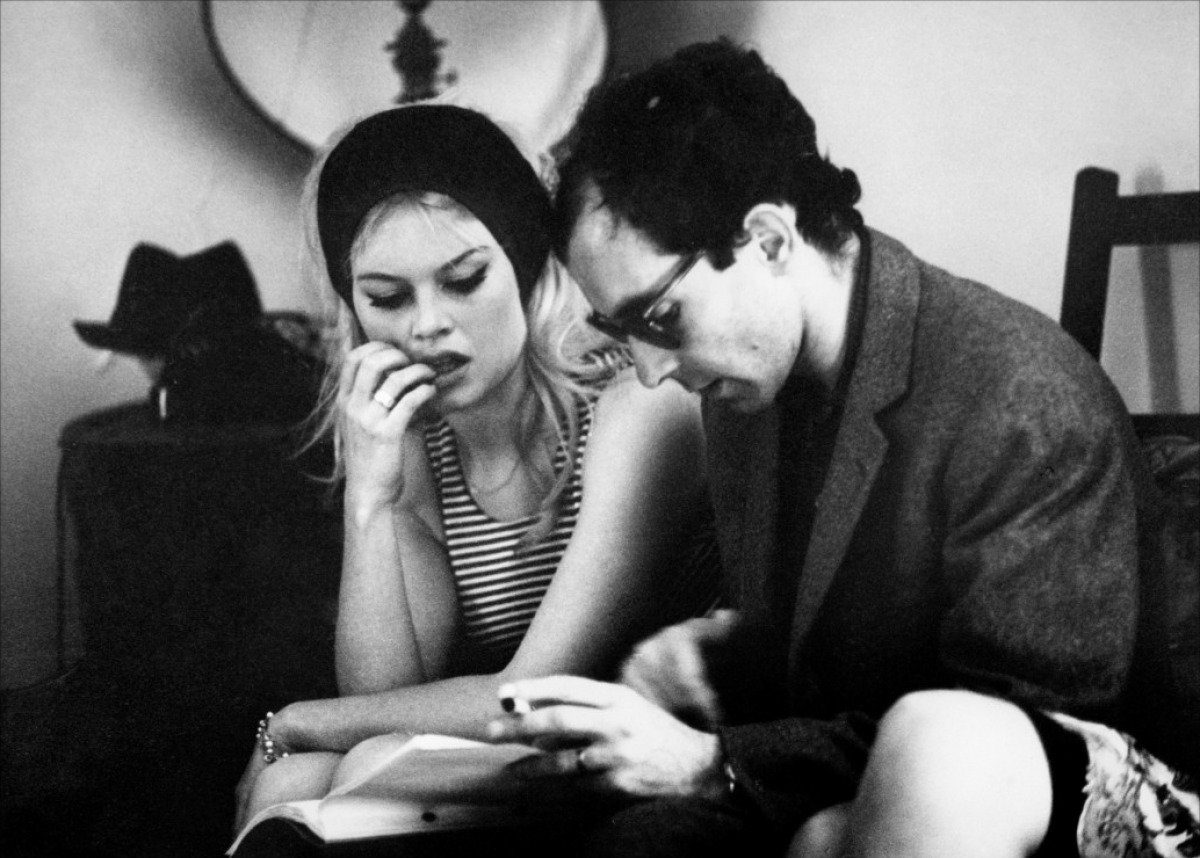 Brigitte Bardot & Jean-Luc Godard